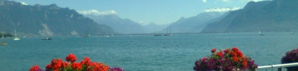 Vevey - meer van Genève
