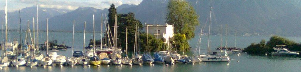 Hafen Clarens- Montreux