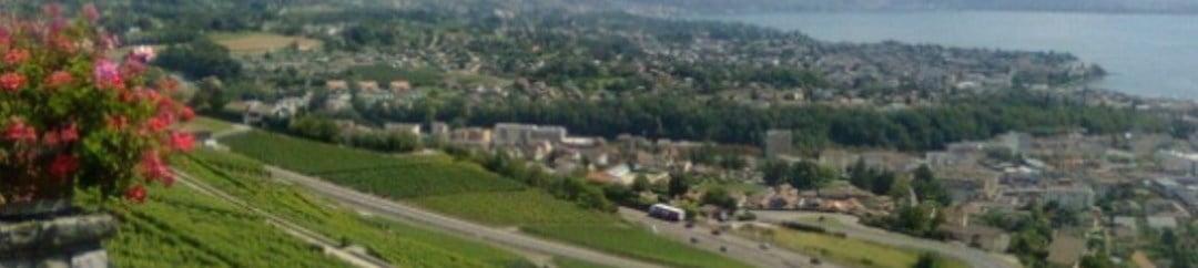 Vue sur Vevey